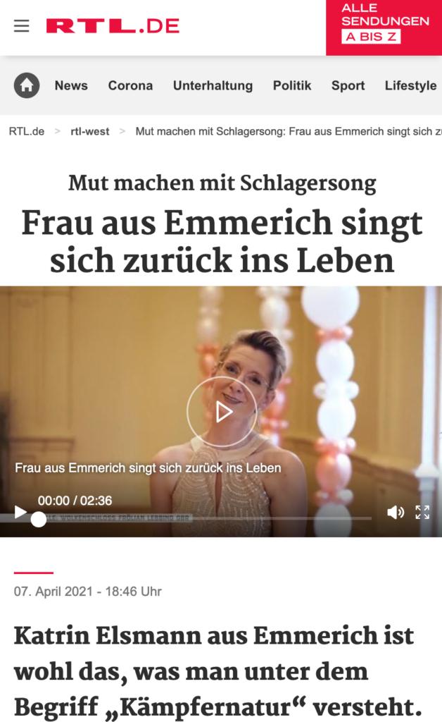 TV-Bericht bei RTL West vom 07.04.2021
