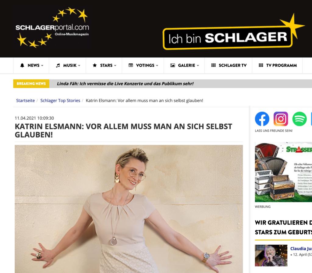 Voting, Interview & Single-Vorstellung auf schlagerportal.com